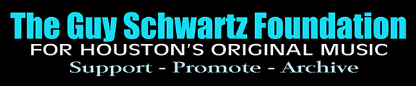 Link to the faceybook page for The Guy Schwartz Foundation for Houston's Original Music