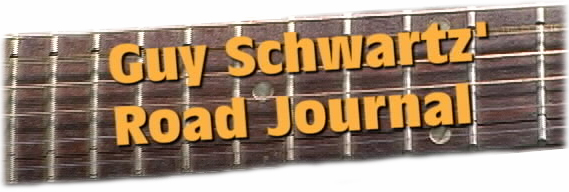 Image for front page of the GUY SCHWARTZ' ROAD JOURNAL - New Reality Series On Hippies.TV!