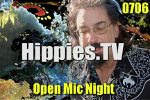 Link to episode 6 of Hippies.TV Season 7 - Open Mic Night