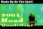 Link to a video with four songs - MADE UP ON THE SPOT - Texas Bandleader Guy Schwartz makes up songs while on tour with the band.